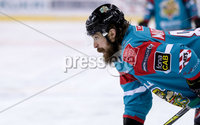 Press Eye - Belfast -  Northern Ireland - 09th February 2018 - Photo by William Cherry/Presseye. Belfast Giants Ryan Martinelli during Friday nights Elite Ice Hockey League game at the SSE Arena, Belfast.