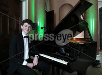 Press Eye - Belfast -  Northern Ireland - 17th May 2017 - Photo by William Cherry. Young Fermanagh-born pianist Oisin McManus helps to launch this year's BBC Proms in the Park Northern Ireland at an event in Castle Coole earlier today (Wednesday). This year's BBC Proms in the Park will come live from the grounds of the National Trust property on Saturday 9 September, with support from Fermanagh and Omagh District Council and Tourism Northern Ireland
