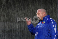 Linfield manager David Jeffrey.