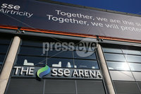Press Eye - Belfast - Northern Ireland - 22nd February 2021. General view of the SSE Airtricity Arena in Belfast City Centre which will be turned into a COVID-19 vaccination centre in April. . Picture by Jonathan Porter/PressEye