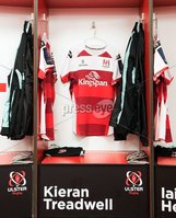 European Rugby Champions Cup Round 4, Kingspan Stadium, Belfast 15/12/2017. Ulster vs Harlequins. A view of Kieran Treadwell\'s jersey before the game. Mandatory Credit ©INPHO/Tommy Dickson