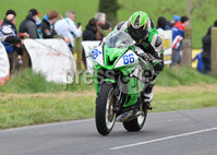Mandatory Credit: Rowland White / PressEye. Motor Cycle Racing: 57th Tandragee 100 . Venue: Tandragee. Practice Day. Date: 21st April 2017. Caption: Derek McGee