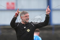 Danske Bank Premiership, Showgrounds, Coleraine , Co. Derry. Northern Ireland 1/5/2021. Coleraine V Cliftonville. Match referee Raymond Crangle.. Mandatory Credit INPHO/Presseye/Lorcan Doherty.