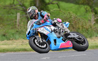 Mandatory Credit: Rowland White / PressEye. Motor Cycle Racing: 57th Tandragee 100 . Venue: Tandragee. Practice Day. Date: 21st April 2017. Caption: Vassitios Takos from Germany