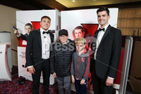 Press Eye - Belfast - Northern Ireland - 30th September 2018 - . Padraig O\'Luasa, Ben Bingham, Alfie Bingham and David Priestman pictured at Movie House Dublin Road for a special preview screening of upcoming comedy, JOHNNY ENGLISH STRIKES AGAIN, in cinemas across Northern Ireland from Friday 5th October.. Photo by Kelvin Boyes / Press Eye..