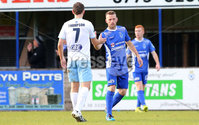 Danske Bank Premiership, Showgrounds, Ballymena 7/10/2017 . Dungannon vs Ballymena United. Dungannon\'s Terry Fitzpatrick. Mandatory Credit ©INPHO/Philip Magowan
