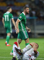 Press Eye - Belfast -  Northern Ireland - 11th June 2019 - Photo by William Cherry/Presseye. Northern Ireland\'s Conor Washington during Tuesday nights UEFA EURO 2020 Qualifier at the Borisov Arena, Belarus.      Photo by William Cherry/Presseye