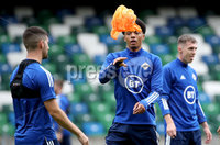 Press Eye - Belfast, Northern Ireland - 01st September 2020 - Photo by William Cherry/Presseye. Northern Ireland\'s Jamal Lewis during Tuesday mornings training session at the National Stadium at Windsor Park, Belfast ahead of Friday nights Nations League game in Romania.    Photo by William Cherry/Presseye