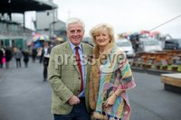 Press Eye - Belfast - Northern Ireland - 3rd November 2018 . Down Royal Festival of Racing - Day 2. Martin and Tracy Hamilton pictured at Down Royal . Photo by Kelvin Boyes / Press Eye..