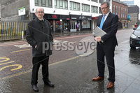 Press Eye - Belfast - Northern Ireland - 20th November  2020. Alan Black (left) the sole survivor of the Kingsmill massacre is taking legal action at the High Court to have two IRA men suspected of involvement in the murders publicly named. . Pictured are (L-R) Alan Black and solicitor Kevin Winters. Picture by Declan Roughen / PressEye. .