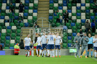 Press Eye - Belfast - Northern Ireland - 12th November 2020. European Qualifier. Northern Ireland v Slovakia. Slovakia.. Picture: Philip Magowan / Press Eye