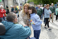 1st June 2019. Charlotte and Billy pictured as they arrive at City Hall in Belfast ahead of a demonstration on behalf of Charlotte and Billy Caldwell .Billy, 13, suffers from a severe, life-threatening form of epilepsy for which cannabis oil is the most effective treatment and unfortunately his supply is at a critically low point.. Mandatory Credit-Presseye/Stephen Hamilton