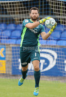 Press Eye - Danske Bank Premiership  - 12th August 2017. Dungannon Swifts v Coleraine. Photograph By Declan Roughan. Dungannons Swifts keeper Andrew Coleman