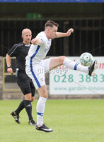 Press Eye - Danske Bank Premiership  - 12th August 2017. Dungannon Swifts v Coleraine. Photograph By Declan Roughan. Coleraine's Darren McCauley