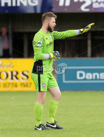 Press Eye - Danske Bank Premiership  - 12th August 2017. Dungannon Swifts v Coleraine. Photograph By Declan Roughan. Coleraines Keeper Chris Johns