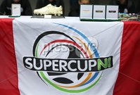 PressEye-Northern Ireland- 27th   July  2018-Picture by Brian Little/PressEye. SuperCupNI. Minor  Section . Awards  for Greenisland      against Bertie Peacock Youths       during the SuperCupNI Minor Final  at Coleraine Showgrounds. . Picture by Brian Little/PressEye