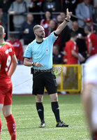 Press Eye Belfast - Northern Ireland 12th August 2017. Danske Bank Irish Premier league match between Cliftonville and Ards at Solitude Belfast.. Ray Crangle.  Photo by Stephen  Hamilton / Press Eye