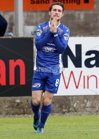 Press Eye - Danske Bank Premiership  - 12th August 2017. Dungannon Swifts v Coleraine. Photograph By Declan Roughan. Dungannons Swifts Ryan Mayse.