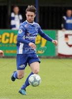Press Eye - Danske Bank Premiership  - 12th August 2017. Dungannon Swifts v Coleraine. Photograph By Declan Roughan. Dungannons Swifts 	Ryan Mayse