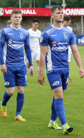 Press Eye - Danske Bank Premiership  - 12th August 2017. Dungannon Swifts v Coleraine. Photograph By Declan Roughan. Dungannon Swifts 	Ryan Harpur