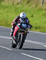 Mandatory Credit: Rowland White / PressEye. ULSTER GRAND PRIX. Venue: Dundrod. Date: 12th August 2017. Class: SUPERTWIN RACE. Caption: James Cowton