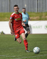 Press Eye Belfast - Northern Ireland 12th August 2017. Danske Bank Irish Premier league match between Cliftonville and Ards at Solitude Belfast.. Daniel Hughes .  Photo by Stephen  Hamilton / Press Eye