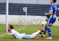 Danske Bank Premiership at Coleraine Showgrounds, Coleraine  09.03.2019. Coleraine FC Vs Ballymena United. . Ballymena\'s Andrew McGrory celebrates after he scores to make it 0-4 and gets a hat trick. . . Mandatory CreditINPHO/PressEye.com/Jonathan Porter.