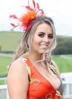 Press Eye - Belfast - Northern Ireland - 11th August 2019 -  Nicole Mageean pictured at the Downpatrick Racecourse Style Sunday race meeting. . Photograph by Declan Roughan / Press Eye
