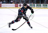 Press Eye - Belfast, Northern Ireland - 04th October 2019 - Photo by William Cherry/Presseye. Belfast Giants\' Ciaran Long during Friday nights EIHL game  against Guildford Flames at the SSE Arena, Belfast.   Photo by William Cherry/Presseye