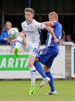 Press Eye - Danske Bank Premiership  - 12th August 2017. Dungannon Swifts v Coleraine. Photograph By Declan Roughan. Coleraines Jamie McGonigle