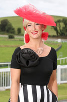 Press Eye - Belfast - Northern Ireland - 11th August 2019 - Carol Cassidy from Fermanagh pictured at the Downpatrick Racecourse Style Sunday race meeting. . Photograph by Declan Roughan / Press Eye