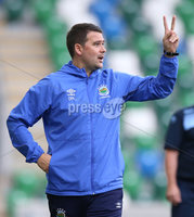 Danske Bank Premiership, Windsor Park, Belfast 10/8/2019. Linfield vs Institute. Linfield manager David Healy. Mandatory Credit INPHO/John McVitty