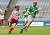 Lory Meagher Final, Croke Park, Dublin 9/6/2012. Fermanagh vs Tyrone. Fermanagh\'s Declan McGarry and Stevie McCrory of Tyrone. Mandatory Credit ©INPHO/Ryan Byrne