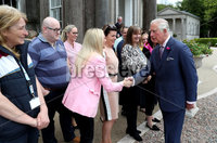 Press Eye - Belfast -  Northern Ireland - 22nd May 2019 - Photo by William Cherry/Presseye. . The Prince of Wales is pictured at the Palace Demesne, Armagh during his 2 day visit to Northern Ireland.  He met Council staff.