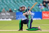 ©Press Eye Ltd Northern Ireland -18th July  2012. Mandatory Credit - Picture by Darren Kidd/Presseye.com . RSA T20 International Series.. Ireland v Bangladesh, 1st T20I, Stormont, Belfast.. Ireland\'s John Mooney.