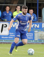 Press Eye - Danske Bank Premiership  - 12th August 2017. Dungannon Swifts v Coleraine. Photograph By Declan Roughan. Dungannon Swifts Cormac Burke.
