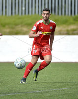 Press Eye Belfast - Northern Ireland 12th August 2017. Danske Bank Irish Premier league match between Cliftonville and Ards at Solitude Belfast.. Joe Gormley.  Photo by Stephen  Hamilton / Press Eye