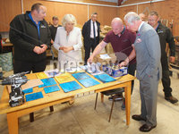 Press Eye - Belfast - Northern Ireland - 13th June 2018. As part of a two day visit to Northern Ireland Prince Charles and Camilla visited Owenkillew Community Centre, an established community facility based in the village of Gortin, Co Tyrone.  It opened in 1999 funded by Millennial Halls Grant and comprises a multi-use sports hall, meeting room, gym & playgroup with a Men's Shed being added in 2016.  It is set on a 7 acre site which also comprises a 55 bed hostel, 4 town houses, an outdoor Activity Centre, community garden, MUGA, footgolf course and is a key link for the village.. . Picture by Jonathan Porter/PressEye