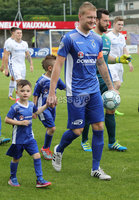 Press Eye - Danske Bank Premiership  - 12th August 2017. Dungannon Swifts v Coleraine. Photograph By Declan Roughan. Dungannon Swifts  David Armstrong