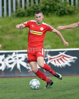 Press Eye Belfast - Northern Ireland 12th August 2017. Danske Bank Irish Premier league match between Cliftonville and Ards at Solitude Belfast.. Daniel Hughes.  Photo by Stephen  Hamilton / Press Eye