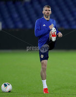 Press Eye - Belfast, Northern Ireland - 09th October 2019 - Photo by William Cherry/Presseye. Northern Ireland\'s Micheal Smith during Wednesday nights training session at Stadium Feijenoord ahead of Thursday nights UEFA Euro 2020 Qualifier against Netherlands in Rotterdam. Photo by William Cherry/Presseye