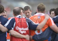 ©Russell Pritchard / Presseye  - 10th June 2012. Ulster GAA Football Senior Championship 2012 Quarter-Final : Armagh vs Tyrone at Morgan Athletic Grounds, Armagh. Armaghs Manager Paddy O\'Rourke at Sundays Quarter Final.. ©Russell Pritchard / Presseye