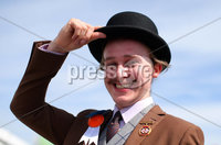 Press Eye - Belfast - Northern Ireland - 15th May 2019. First day of the Balmoral Show, in partnership with Ulster Bank: Robert Wallace from Ballynahinch pictured during the show at Balmoral Park outside Lisburn. . Picture by Jonathan Porter/PressEye