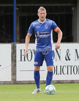 Press Eye - Danske Bank Premiership  - 12th August 2017. Dungannon Swifts v Coleraine. Photograph By Declan Roughan. Dungannons Swifts 	David Armstrong