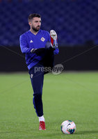 Press Eye - Belfast, Northern Ireland - 09th October 2019 - Photo by William Cherry/Presseye. Northern Ireland\'s Conor McLaughlin during Wednesday nights training session at Stadium Feijenoord ahead of Thursday nights UEFA Euro 2020 Qualifier against Netherlands in Rotterdam. Photo by William Cherry/Presseye