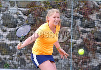 Press Eye Belfast - Northern Ireland 14th July 2017. Co. Antrim Tennis semi-finals at Ballycastle Tenni sClub.. Megan McGreevy. Picture by Jonathan Porter/PressEye.com.