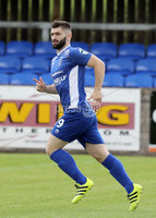 Press Eye - Danske Bank Premiership  - 12th August 2017. Dungannon Swifts v Coleraine. Photograph By Declan Roughan. . Coleraines Cormac Burke