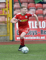 Press Eye Belfast - Northern Ireland 12th August 2017. Danske Bank Irish Premier league match between Cliftonville and Ards at Solitude Belfast.. Chris Curran.  Photo by Stephen  Hamilton / Press Eye