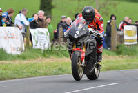 Mandatory Credit: Rowland White / PressEye. Motor Cycle Racing: 57th Tandragee 100 . Venue: Tandragee. Practice Day. Date: 21st April 2017. Caption: Big crowd watch Guy Martin