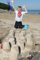 Press Eye - Helens Bay - Weather Pictures - 25th August 2019. Photograph by Declan Roughan. Jacob Jamison ages 6 from Belfast.